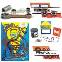 Suzuki RM85 2002 - 2015 Engine Rebuild Kit Inc Rod Gaskets Piston Seals (B)